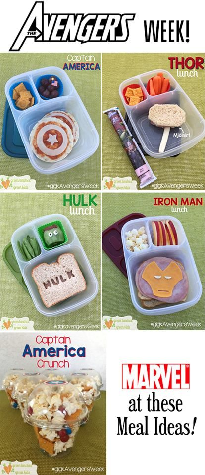 Avengers Week round up by Green Lunches