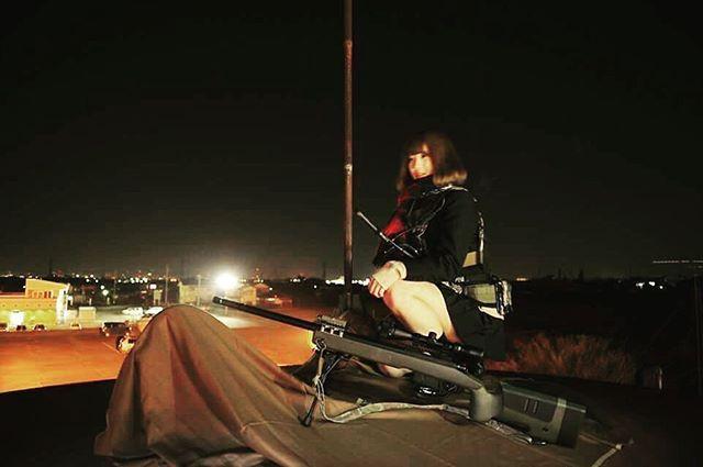 "WEBSTA @ blueswallowtail - Goddess is here… "" The Shooter "" girl  #japon #japan #tokyo #pewpew #sniperrifle #pewpewlife  #308win #remington  #remington700 #762nato  #308 #m700 #m40a5 #surefire  #sniper #jk #highschool  #highschoolfriends #highschoolgirls #tactical #tacticallife #tacticalgear"
