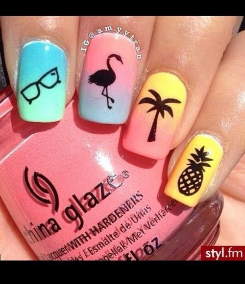 myh!! the art of creating: Unhas Da Semana