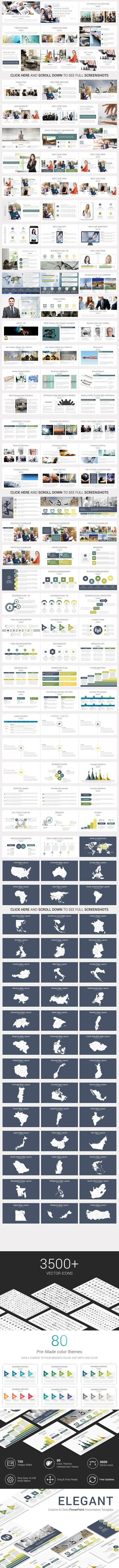 Elegant PowerPoint Template 228 best Google Slides