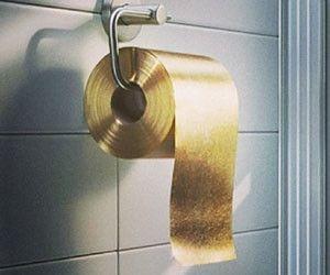 Zlatý toaletní papír 27 538 000 Kč