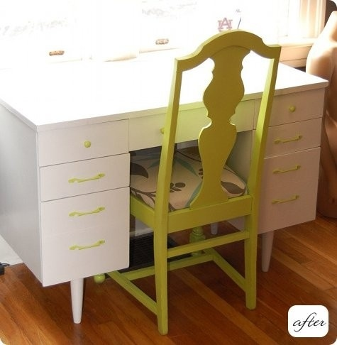 repainted table and chair by jami
