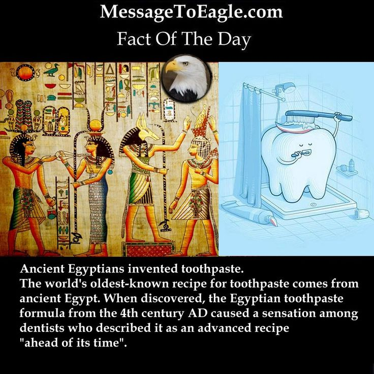 Ancient History Facts: Ancient Egyptians Invented Toothpaste
