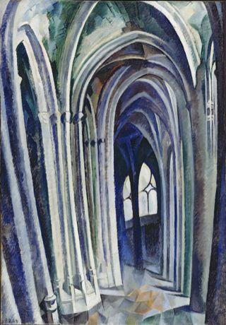 Robert Delaunay, Saint-Séverin No. 1, 1909 - Der Blaue ...