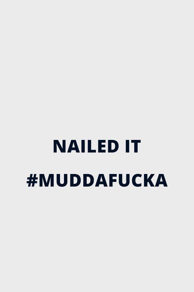Muddafucka - Hank Moody from Californication for iPhone 4