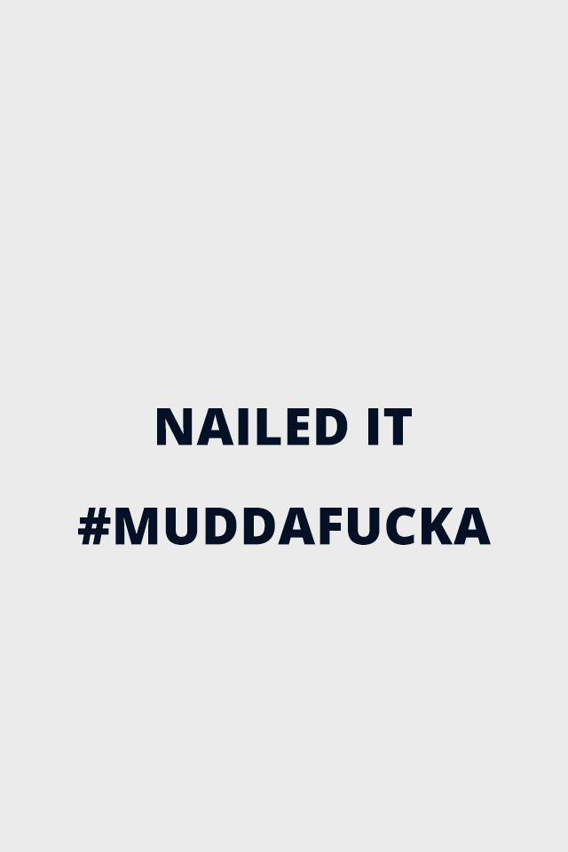 Muddafucka - Hank Moody from Californication for iPhone 4
