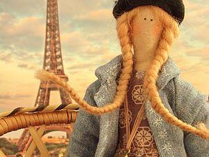 """Шьём очаровательную куклу тильду """"Парижанка"""" - Ярмарка Мастеров - ручная работа, handmade"""