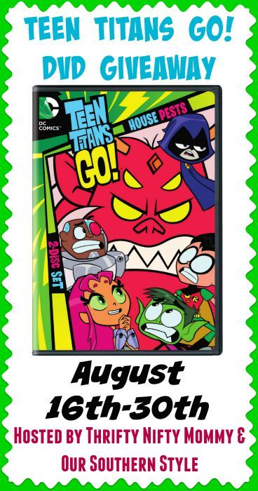 No cartoon brings more fun and more laughs than the super hero gang Teen Titans! I have your chance to win your own copy of Teen Titans Go! Season 2 Part 2!