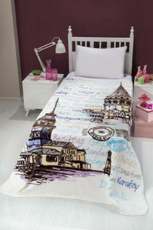 Deka Deka CITY ISTANBUL 160x220 cm pro chlapce či děvčata poslouží jako přikrývka nebo takté přehoz přes postel!