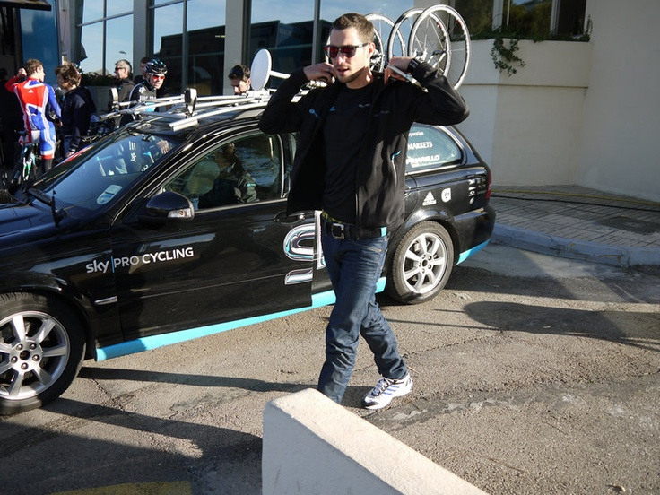 Team Sky | Pro Cycling | Photo Gallery | Mallorca training gallery