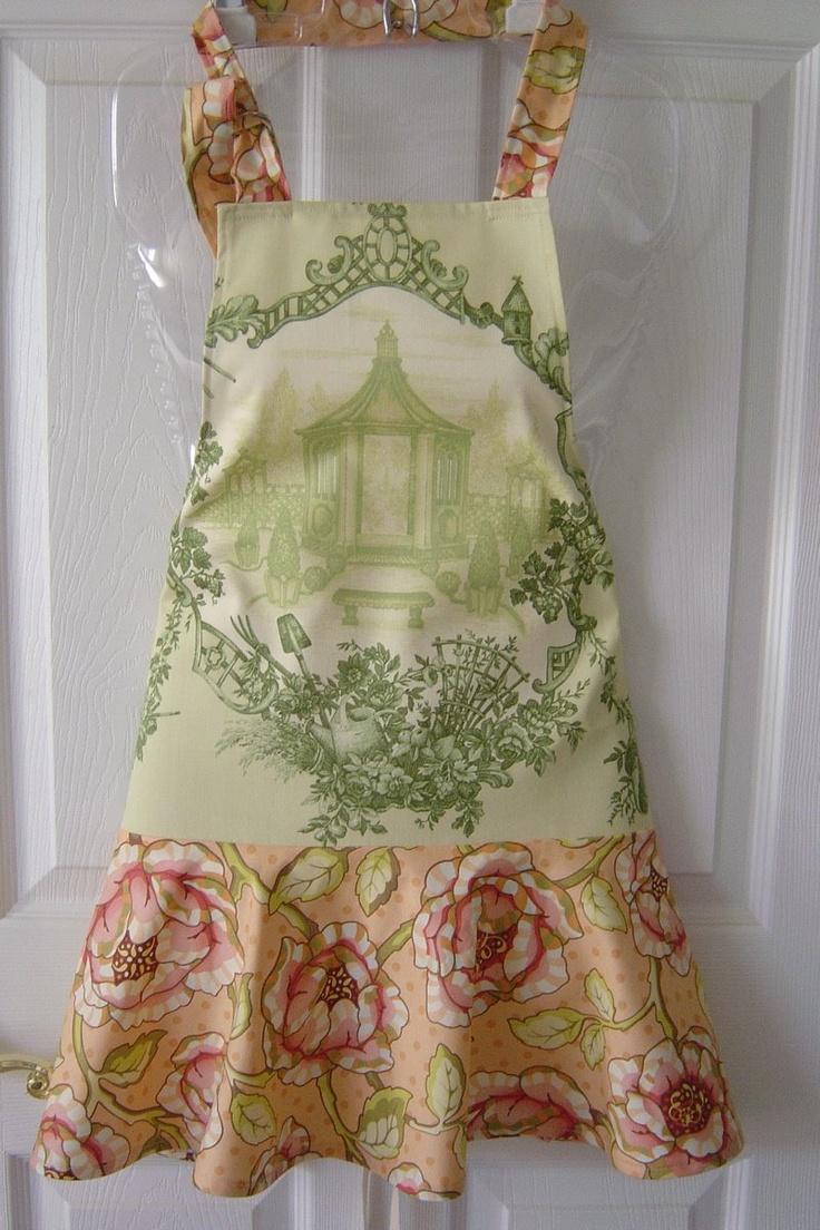 The Empty Nest: couture apron