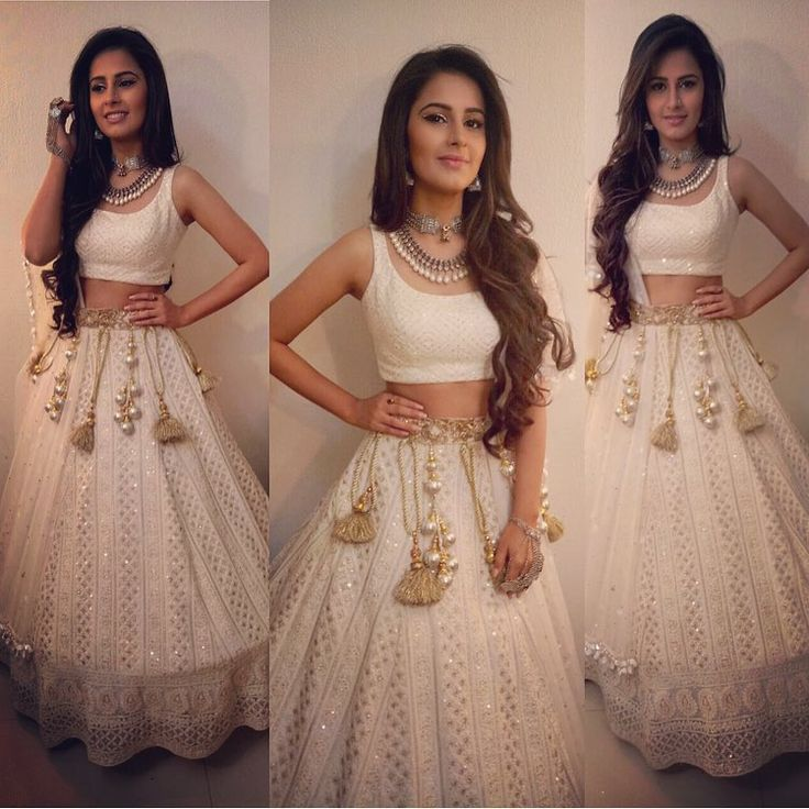 Chandni's engagement look