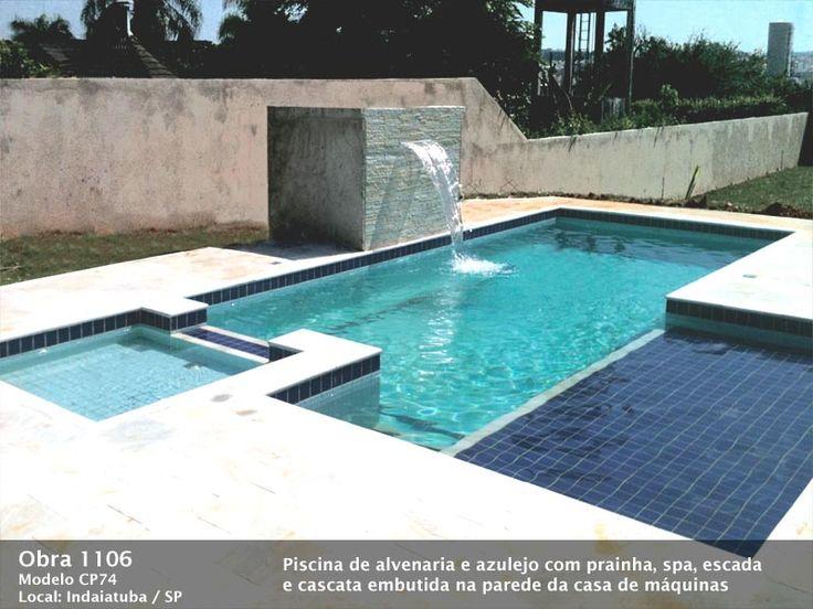 Piscina de concreto e piscina de alvenaria - Ligue (11)2606-5667
