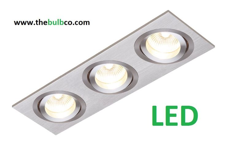 LED Triple Downlight www.thebulbco.com