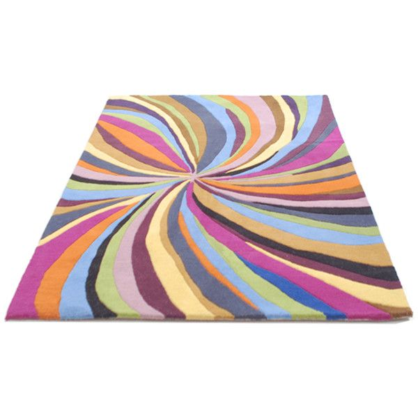 Elegant Funky Rugs UK   Modern, Contemporary U0026 Designer Wool Rugs Found On Polyvore  Featuring Home