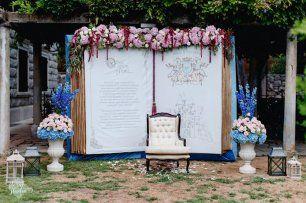 Оформление фотозоны на свадьбе Золушки