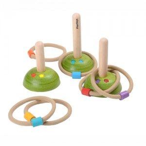 Plan Toys - Rzucanie obręczy, stare dobre zabawy przy których zdobwało się kolegów i koleżanki