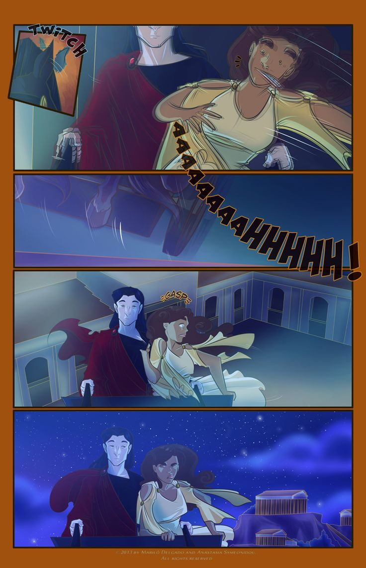 from 100 Days of Night - Hades takes Persie away. This will always be how I picture them :D