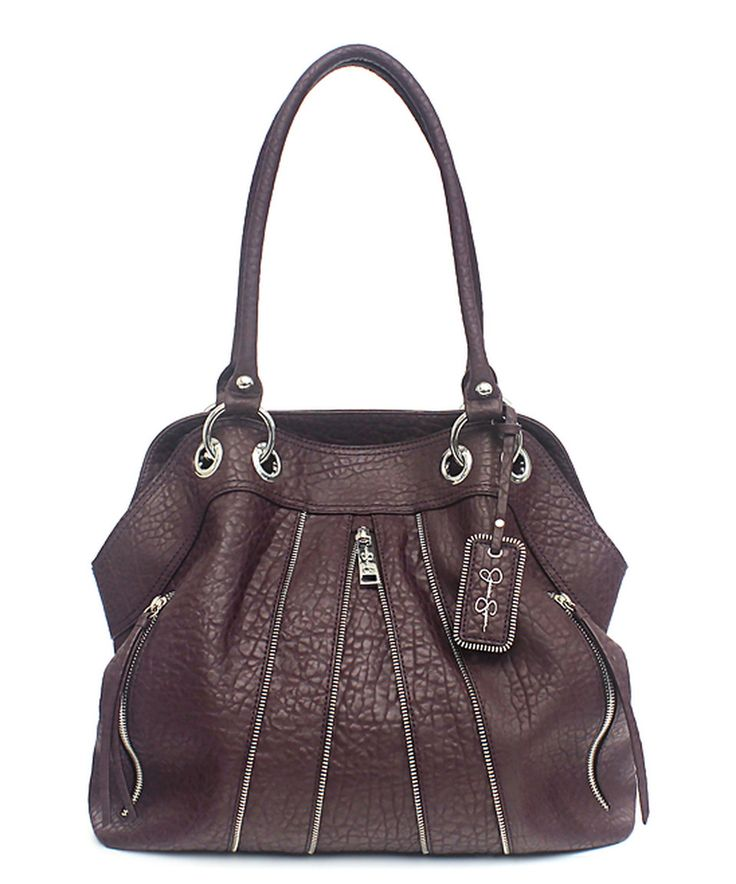 Love this Jessica Simpson Collection Raisin Astor Tote by Jessica Simpson Collection on #zulily! #zulilyfinds