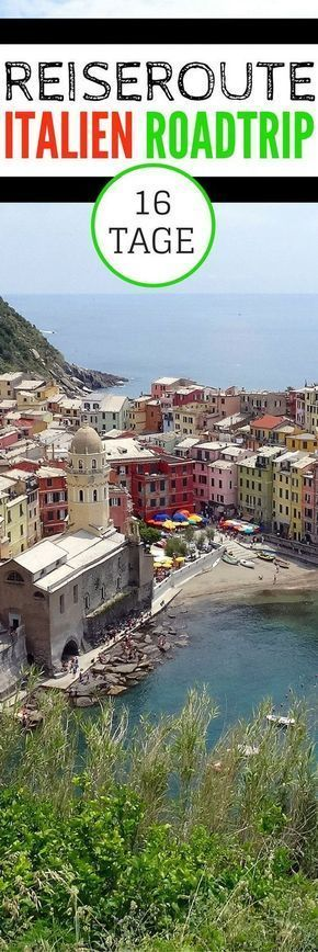 Reiseroute – 16 Tage mit dem Auto durch Italien – Diana Bauer