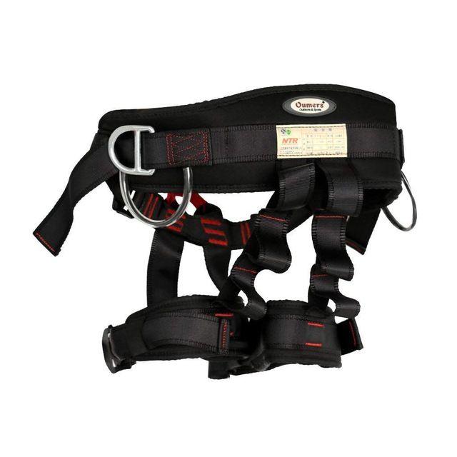 Outdoor Rock Climbing Tree Rappelling Equipment Harness Seat Sitting Bust Belt