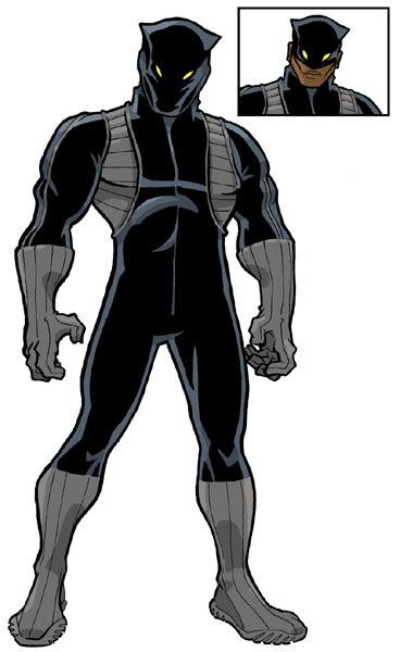 Black Panther by JoelRCarroll on DeviantArt