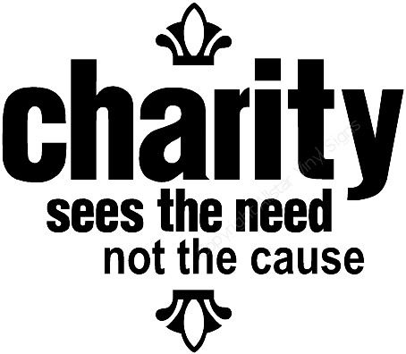 slogan for charity event