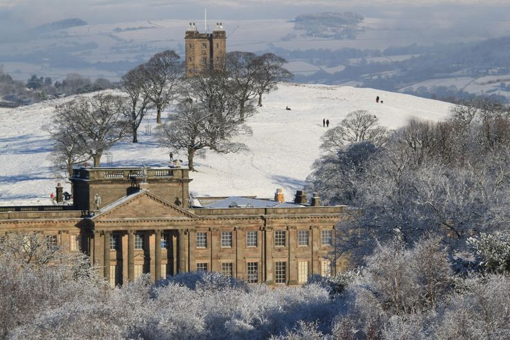 It's fair to say Lyme Park looks magnificent in the snow! Thanks to volunteer Bob for the photo.