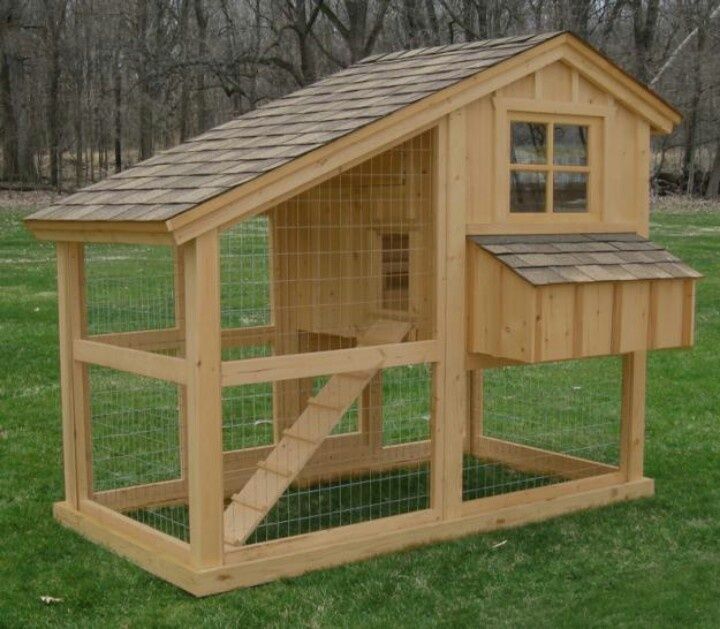 Cool coop urban chickens pinterest chicken coops for Cool chicken coop plans