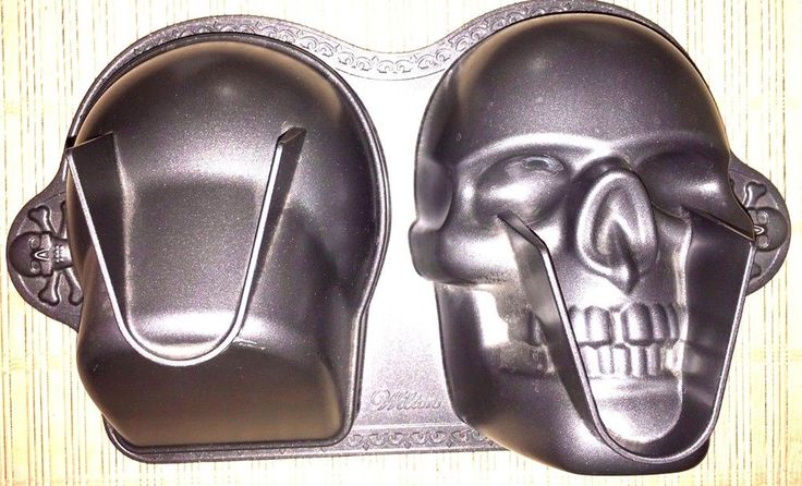 Wilton Dimensions 3D Skull Cake Pan  Halloween Sugar Skull Dia de los Muertos #Wilton