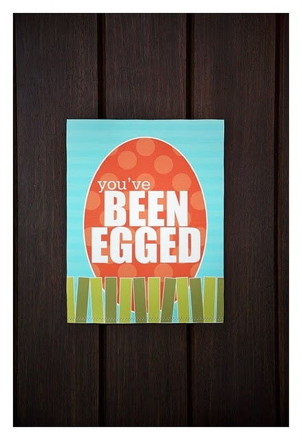 you've been egged: Yard, Cute Ideas, Easter Fun, Egged Free, Easter Eggs, Easter Spring, Easter Ideas