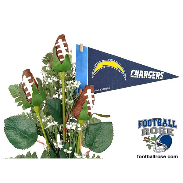 San Diego Chargers Headquarters: 32 Best Images About NFL Football Rose Flower Arrangements