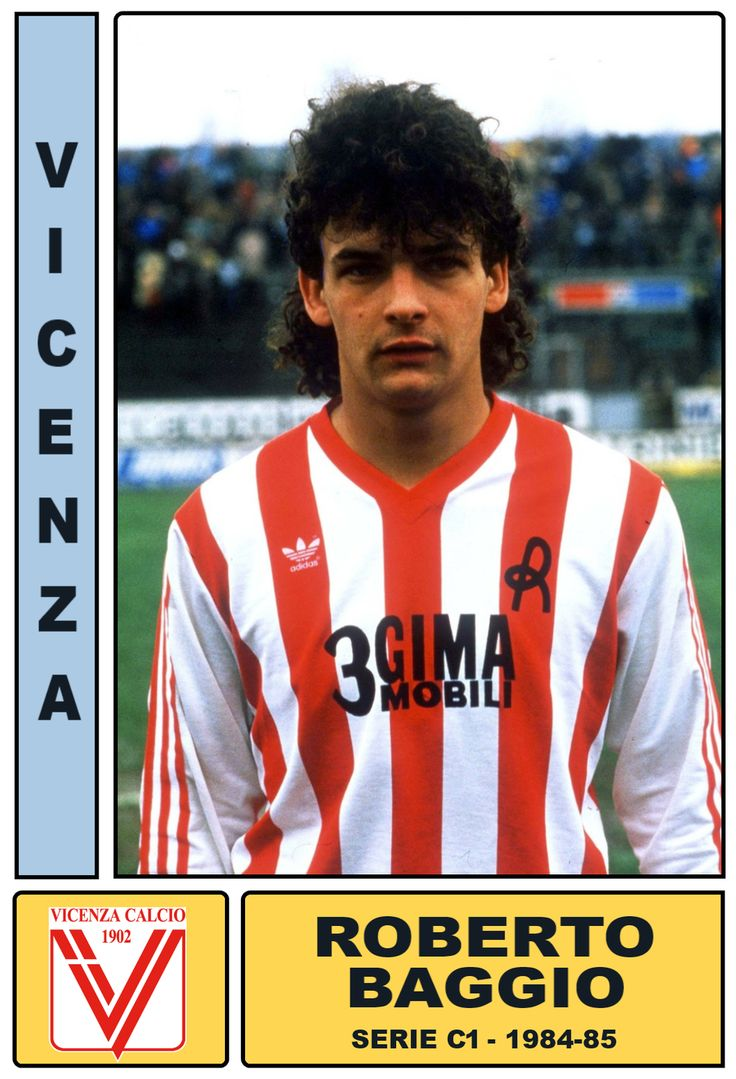 Roberto BAGGIO - Vicenza 1984-85