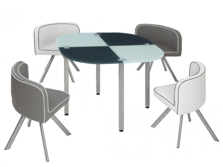 Schön Essgruppe Unity   1 Tisch U0026 4 Stühle   Grau Günstig Kaufen I Möbel Online