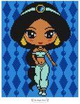Мобильный LiveInternet Покрывало Жасмин (схема). Автор - Two Magic Pixels | Fleure_de_Paris - Дневник Мармеладка |