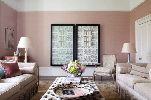 Discover modern living room design ideas on HOUSE - design, food and travel by House & Garden. Amanda Baring has created a perfect living room for a prolific collector of contemporary ceramics.