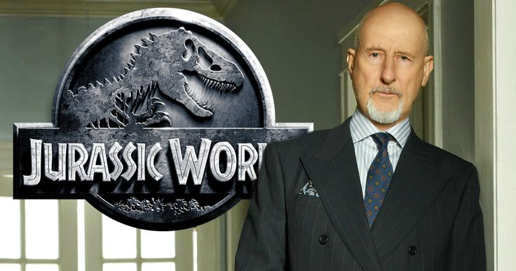 Jurassic World 2 Brings in James Cromwell -- Oscar-nominated actor James Cromwell has joined the ensemble cast of Universal's Jurassic World 2, as production gets under way. -- http://movieweb.com/jurassic-world-2-cast-james-cromwell/