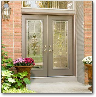 Replacement Entry Doors In St Louis Glass Residential Entry Doors Double Front Doors