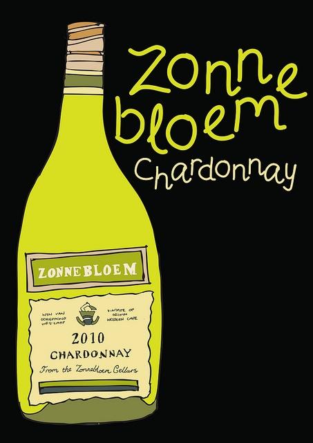 South African Wine : Zonnebloem Chardonnay