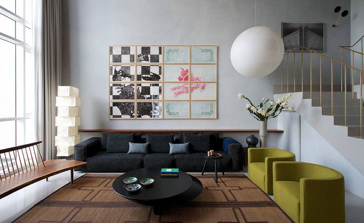 Mumbai-based architect Rajiv Saini has merged Asian and Western sensibilities for the interiors of a new villa, set within a luxury resort in India's Pune