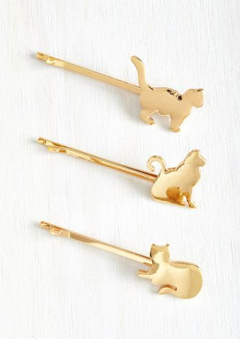 These cat hair clips ($14.99):