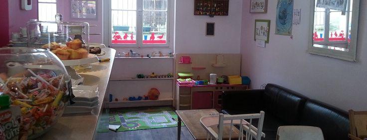 Un salon de thé pour les enfants