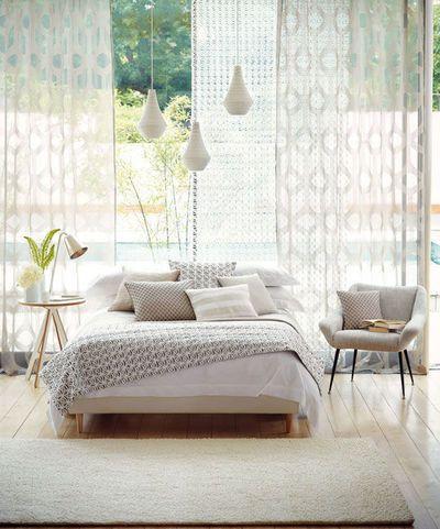Marier les couleurs dans la chambre : linge de lit, tapis, revêtements... - CôtéMaison.fr