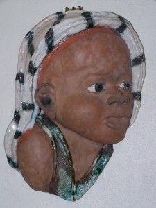 Masque indien Raku