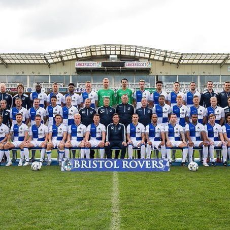 TEAM PHOTO: Here is your Bristol Rovers team photo for the 2016/17 season #BristolRovers