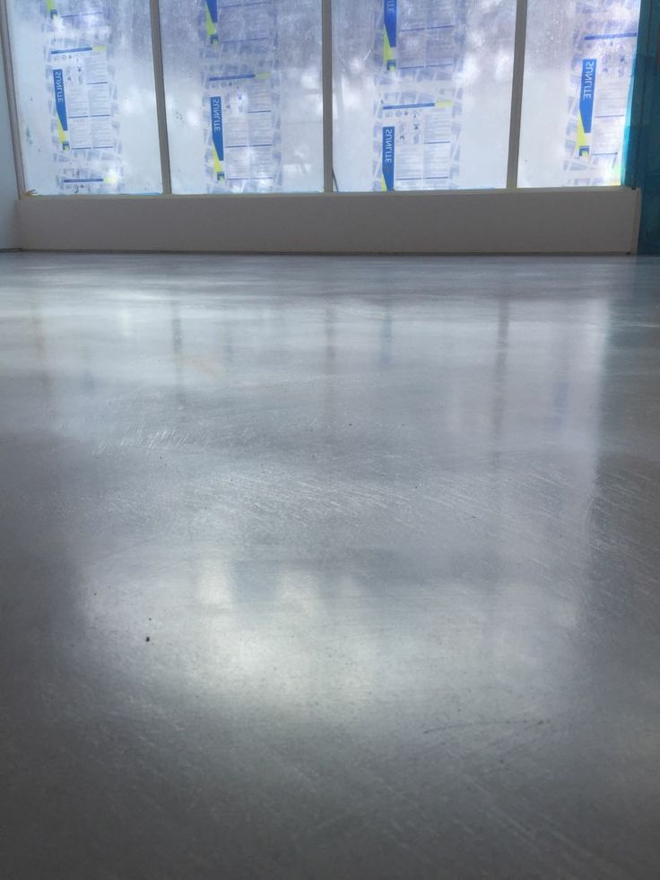 Polished concrete floor  by Sharp Projects