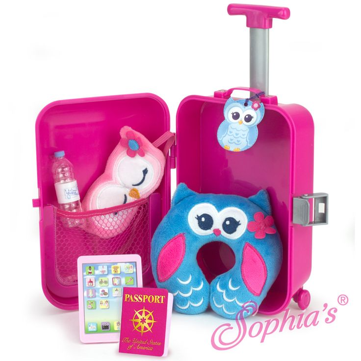 Travel Play Set, 7 piece