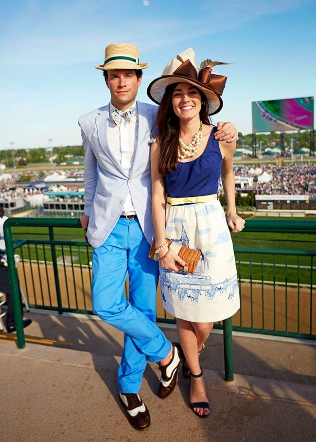 For next year...when we're looking for new fabulous Derby hats and dresses