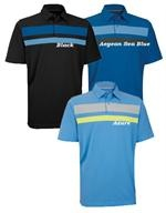 Ashworth | Golf Shirt | Engineer Chest Stripe Golf Shirt