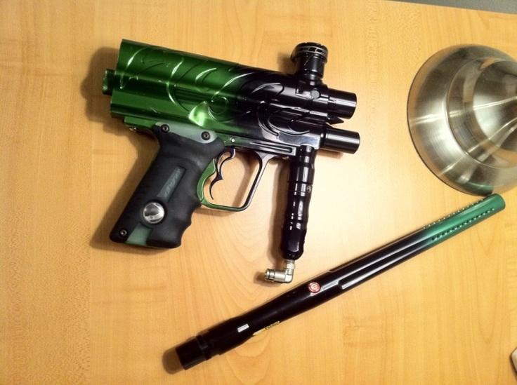 DYE Toxic Matrix Paintball marker, Paintball guns, Paintball